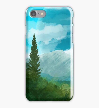 Verdant Plains iPhone Case/Skin