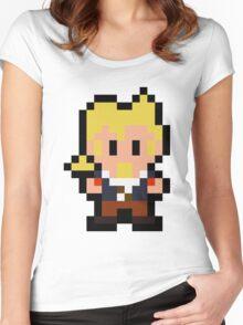 Pixel Guybrush Threepwood Women's Fitted Scoop T-Shirt