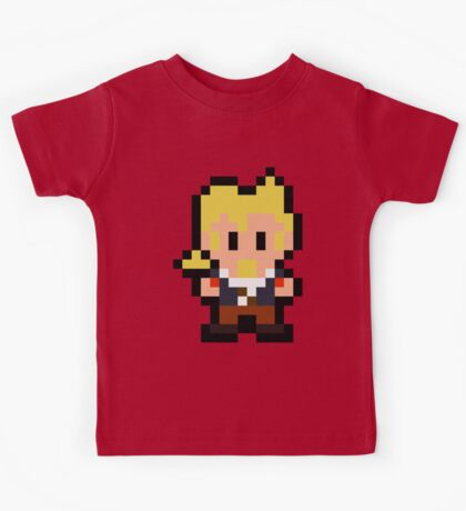 Pixel Guybrush Threepwood Kids Tee