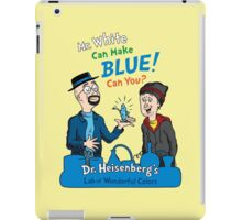 Mr. White Can Make Blue! iPad Case/Skin
