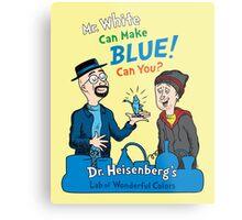Mr. White Can Make Blue! Metal Print