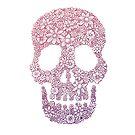 The Flower Skull by MonsterMan
