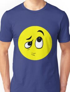 Confused Smiley Unisex T-Shirt