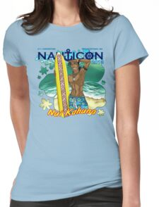 Nauticon 2013 - Nui Kahuna [with DATE & LOCATION] Womens Fitted T-Shirt