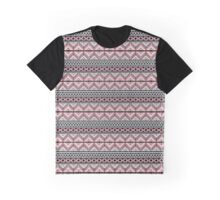 Red Pattern Graphic T-Shirt