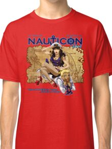 Nauticon 2012 - The Voyage Begins! [with DATE & PLACE] Classic T-Shirt