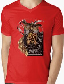 Steampunk wisdom Mens V-Neck T-Shirt