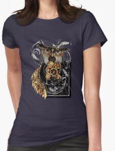 Steampunk wisdom Womens Fitted T-Shirt