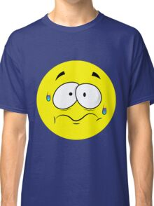 Scared Smiley Classic T-Shirt