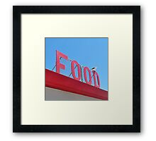 FOOD ZUMA Framed Print