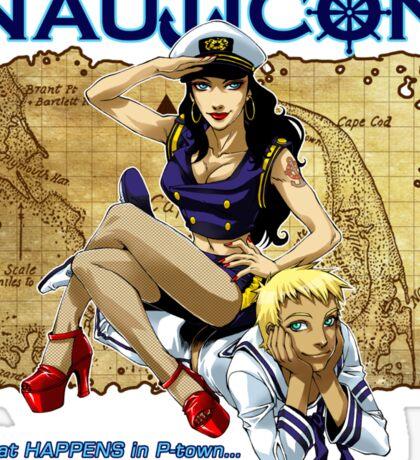 Nauticon 2012 - The Voyage Begins! Sticker