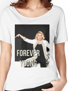 JOAN RIVERS FOREVER YOUNG Women's Relaxed Fit T-Shirt