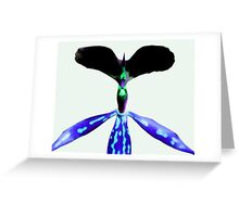 Spike - Orchid Alien Discovery Greeting Card