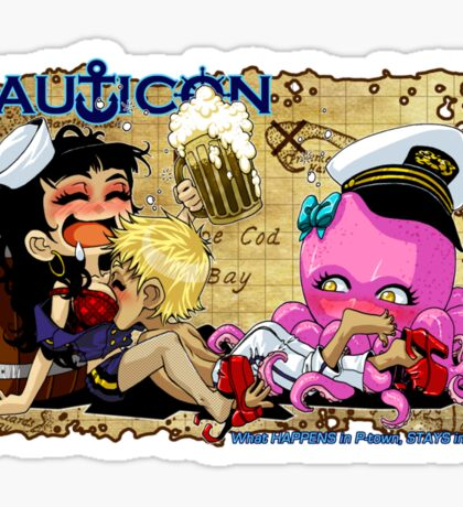 Nauticon 2012 - What HAPPENS in P-town... Sticker