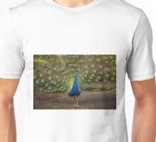 Stunning Male Peacock Unisex T-Shirt