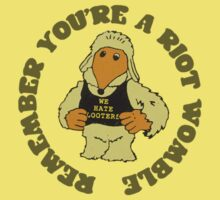 Remember You're A Riot Womble Kids Clothes