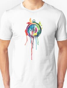Water Colour Compass Unisex T-Shirt