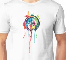 Water Colour Compass Unisex T-Shirt