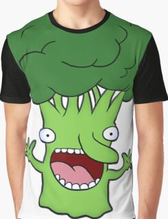 Funny broccoli design for vegetarians Graphic T-Shirt
