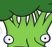 Funny broccoli design for vegetarians Sticker