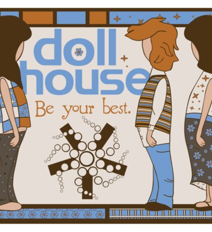 Dollhouse Sticker