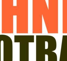 JOHNNY FOOTBALL Sticker
