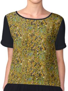 The Daisies Design Chiffon Top