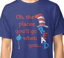 Dr. Seuss Men's the Cat in the Hat for President 2016 Classic T-Shirt