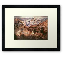 Grand Canyon Arizona - Landscape Painting Framed Print