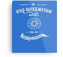 USS QUEEN FISH SHE LIVE IN OUR HEARTS Metal Print