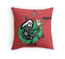 If only we could be carefree Throw Pillow