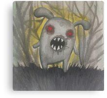 Creepy Little Thing Canvas Print