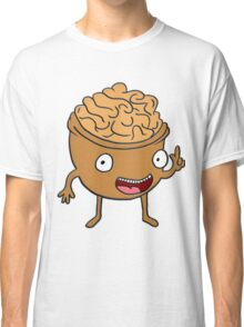 Funny vegetarian walnut design for vegetarians and vegan lovers Classic T-Shirt
