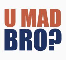 U MAD BRO?  - DENVER BRONCOS  Kids Tee