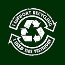 I support recycling by R-evolution GFX