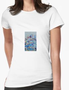 Amidst The Palette by 'Donna Williams' Womens Fitted T-Shirt