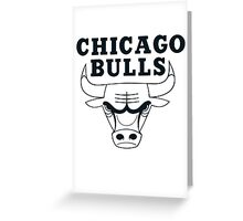 bulls Greeting Card