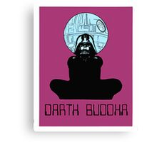 Darth Buddha Poster Canvas Print