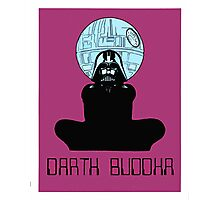 Darth Buddha Poster Photographic Print
