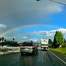 Double Rainbows by Laurie Puglia