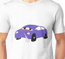 Car Sick (Blu) Unisex T-Shirt