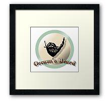 Occam's beard Framed Print