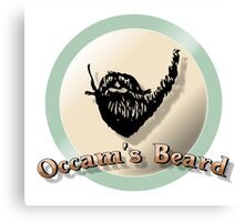 Occam's beard Canvas Print
