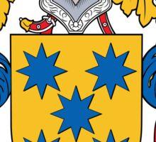 Fonseca Coat of Arms (Spanish) Sticker