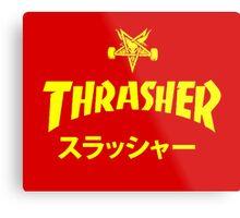 Trasher Baphomet Metal Print