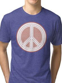 Coastal Hippie Peace Tri-blend T-Shirt