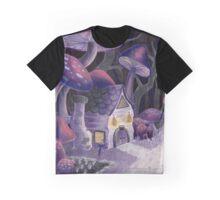 Mushroom Wonderland Graphic T-Shirt