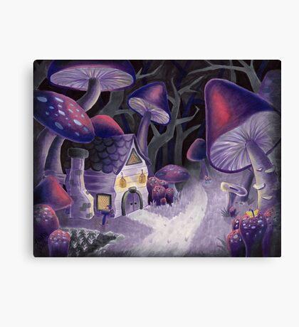 Mushroom Wonderland Canvas Print