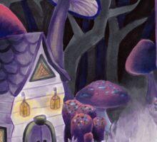 Mushroom Wonderland Sticker