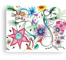 Gipsy Garden Canvas Print
